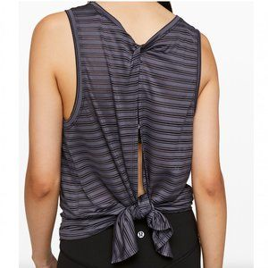 Lululemon Meet Halfway Tank Striped in Moonwalk